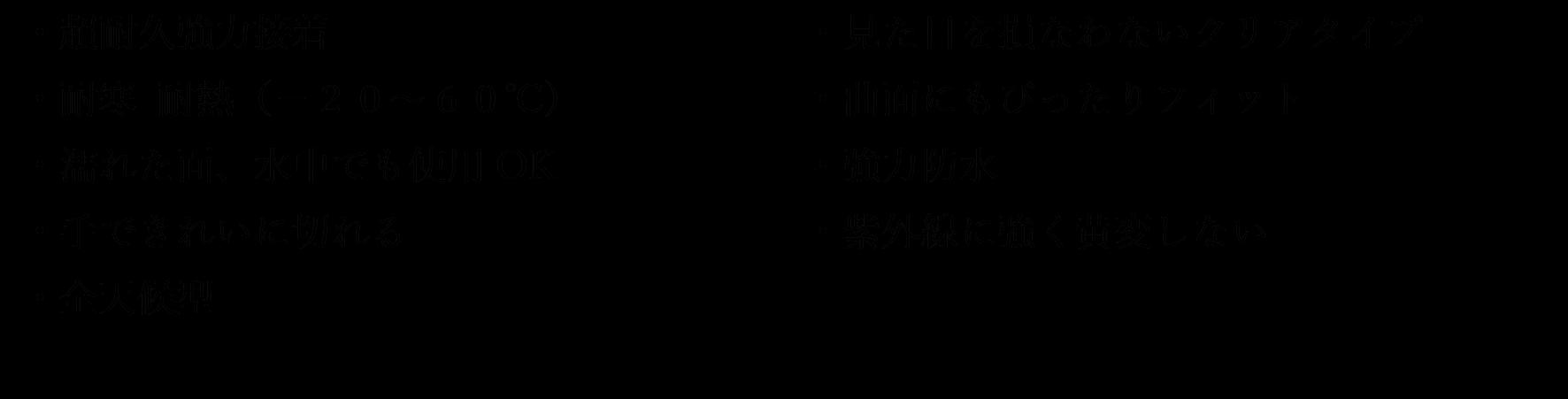 ゴリラテープクリスタルクリア