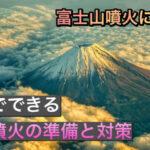 富士山噴火に備える